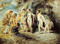 The Judgement of Paris, 1606, rubens