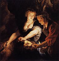 Judith with the Head of Holofernes, 1616, rubens