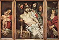 Lamentation of Christ, 1617-18, rubens