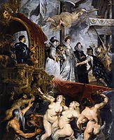 The Landing of Marie de Medici at Marseilles, 1623-25, rubens
