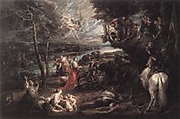 Landscape with Saint George and the Dragon, 1630, rubens