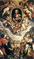 Madonna Adored by Angels, Madonna della Vallicella, 1608, rubens