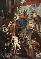 Madonna with Child and Saints, 1628, rubens