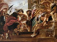The Meeting of Abraham and Melchizedek, 1625, rubens