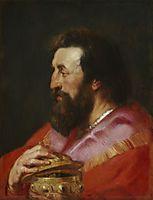Melchior, The Assyrian King , c.1618, rubens