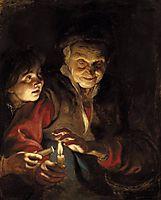 Night Scene, 1616-17, rubens