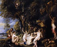 Nymphs and Satyrs, 1637-40, rubens