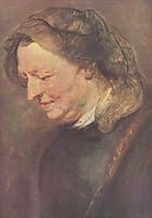 Old woman, 1618, rubens
