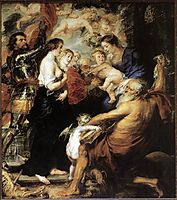 Our Lady with Saints, 1634, rubens
