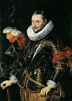 Portrait of Ambrogio Spinola, 1625-28, rubens