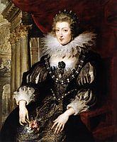 Portrait of Anne of Austria, 1621-25, rubens
