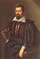 Portrait of Gaspard Schoppins, c.1605, rubens