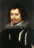 Portrait of George Villiers, first Duke of Buckingham, 1625, rubens
