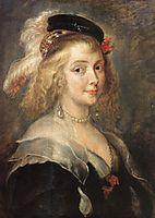 Portrait of Helen Fourment, 1630, rubens