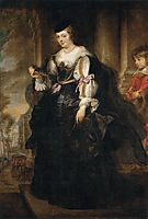 Portrait of Helene Fourment with a Coach, c.1639, rubens