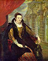 Portrait of Isabella Brandt, 1626, rubens