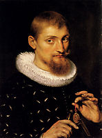 Portrait of a Man, 1597, rubens