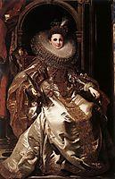 Portrait of Maria Serra Pallavicino, 1606, rubens
