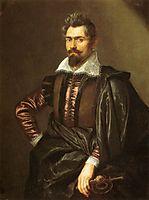 Portrait Scioppius Kaspar, 1606, rubens