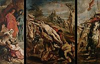 The Raising of the Cross, 1610, rubens