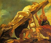 The Raising of the Cross, 1621, rubens
