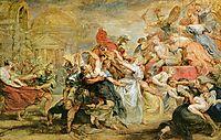 The Rape of the Sabine Women, rubens