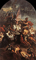 The Road to Calvary, 1637, rubens