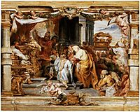 The Sacrifice of the Old Covenant, c.1626, rubens