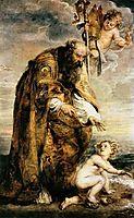 Saint Augustine, 1639, rubens