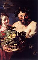Satyr and Girl, rubens