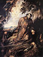 St. Francis of Assisi Receiving the Stigmata, c.1635, rubens