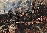 Stormy Landscape, 1625, rubens