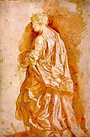 Study for a Standing Female Saint, c.1607, rubens