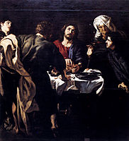 The Supper at Emmaus, 1610, rubens