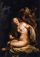 Susanna and the Elders, 1607-08, rubens