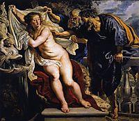 Susanna and the Elders, 1609-10, rubens
