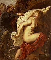 Susanna and the Elders, 1611, rubens