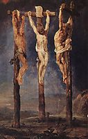 The Three Crosses, 1620, rubens