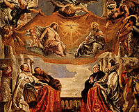 The Trinity Adored By The Duke of Mantua And His Family, c.1606, rubens
