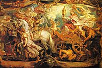 The Triumph of the Church, rubens
