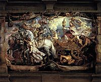 The Triumph of the Church on the Fury, Discord and Hatred, 1628, rubens