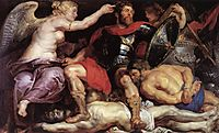 The triumph of victory, 1614, rubens