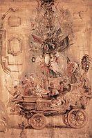 The triumphal chariot of Kallo, 1638, rubens