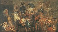 Triumphal Entry of Henri IV in Paris, 1627-30, rubens