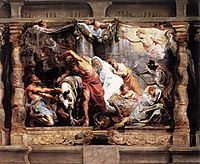The victory of truth Eucharistic Heresy, 1626, rubens