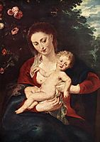 Virgin and Child, 1620-24, rubens
