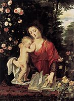 The Virgin and Child, 1624-25, rubens