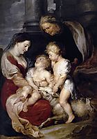 The Virgin and Child with Saint Elizabeth and the Infant Saint John the Baptist, 1615, rubens