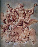 Vision of Ezekiel, 1605-08, rubens