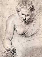 Woman, c.1628, rubens